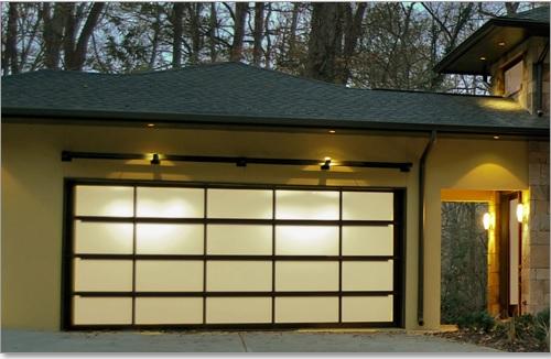 Avante garage door window by Clopay door