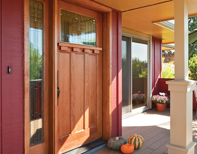 Craftsman style entry doors design by Simson