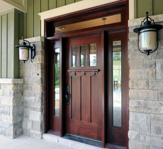 Chosing Fiberglass Entry Doors With Sidelights Home