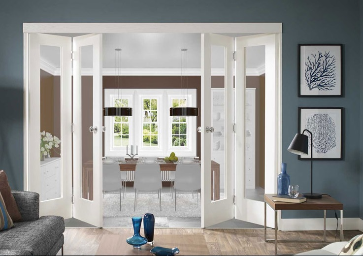 Cleon France  city images : Interior clear glass French doors