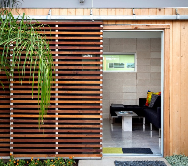 Louvered interior doors for indoor garden doors