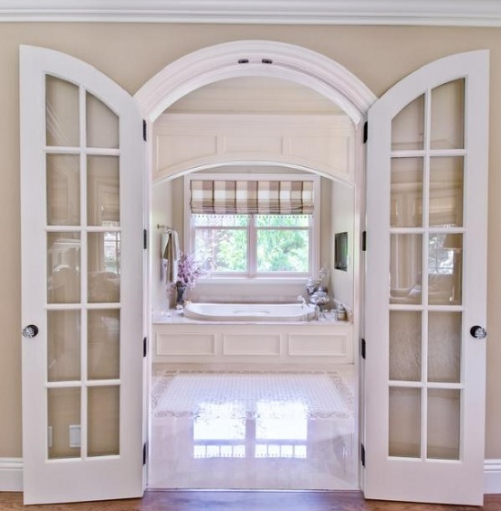 Interior Archway Doors Psoriasisguru White Arched Interior Doors With Glass Home Design Stokkelandfo Gallery & Archways Door Arches u0026 Another Way To Dress Up Symmetrical Arches ... pezcame.com