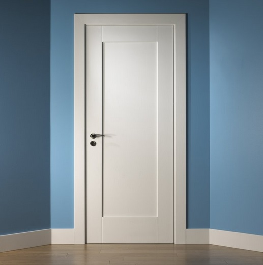 1-Panel-shaker-style-interior-doors Shaker Style Interior Door