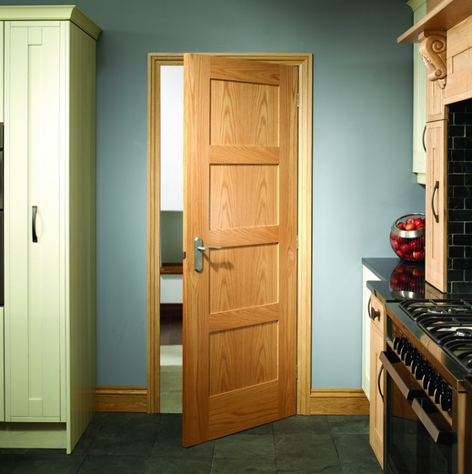 4 Panel Oak Shaker Style Interior Doors Home Doors Design