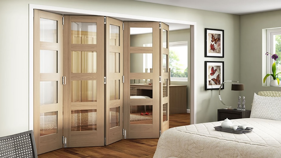 Best shaker style interior doors variations home doors for Interior folding doors