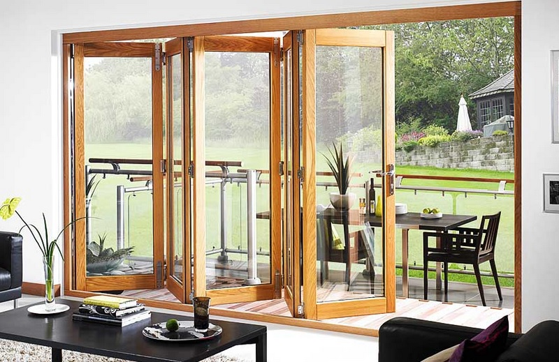Patio bifold french door design home doors design for French accordion doors
