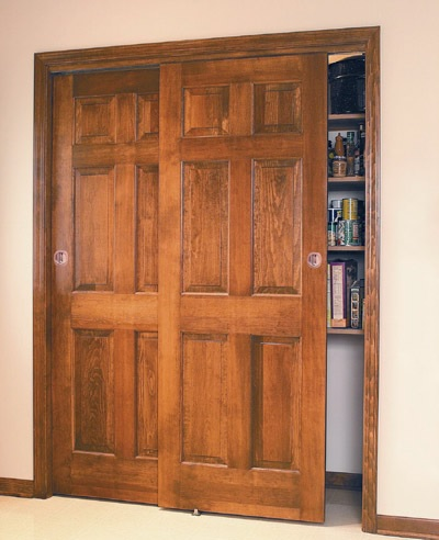 Six Panel Interior Closet Sliding Doors Home Doors