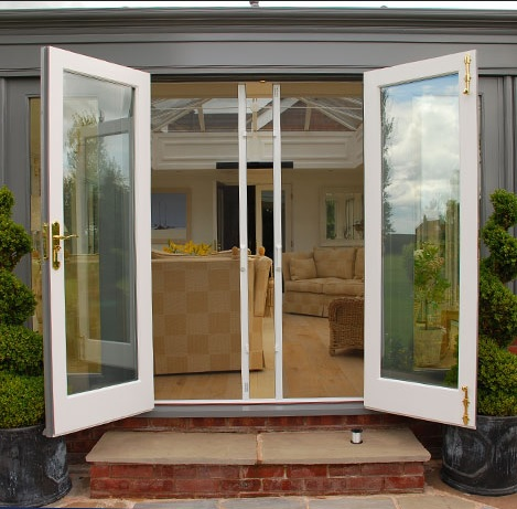 Fly screens for double french doors