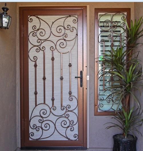 Security Screen Doors For French Doors Home Doors Design
