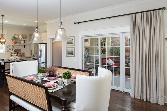 Single Drapes For Dining Room Sliding Glass Doors