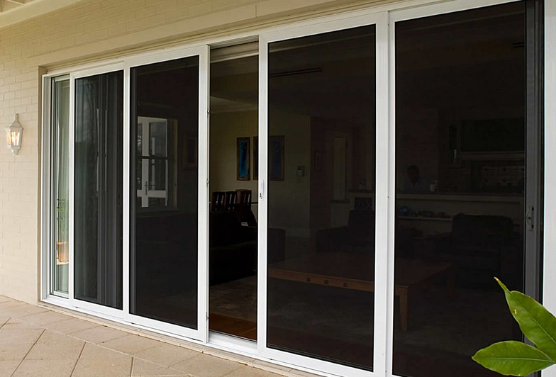 Sliding screen door parts for patio door