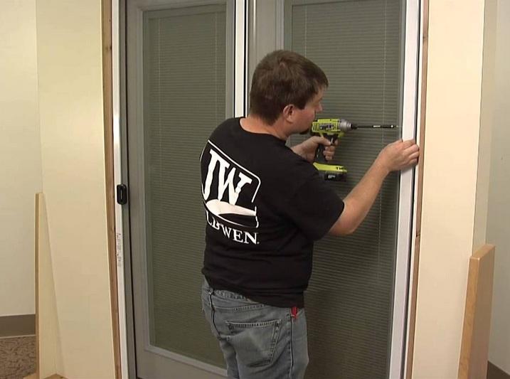 Sliding screen door parts replacement