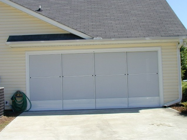 Garage Door Screen Kits Designs And Styles Home Doors