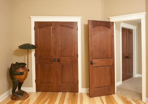 2 panel door design with raised panel style