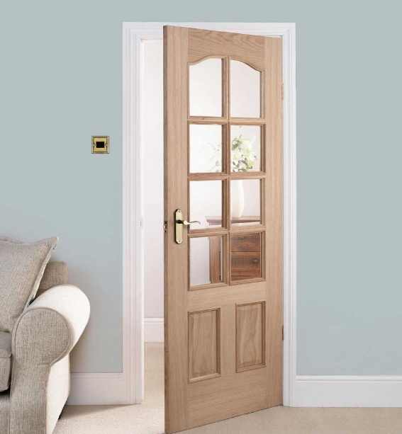 20 x 80 interior door with glass panel insert