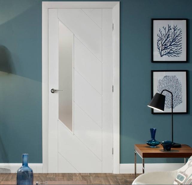 Internal White Doors With Glass Choosing Tips Home Doors Design