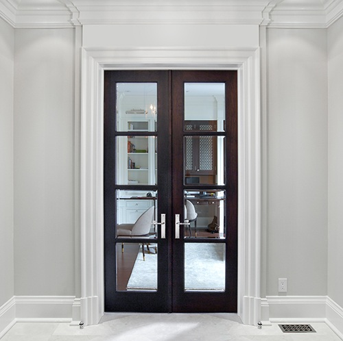Custom interior french doors to update your home home doors design inspiration - Swinging double doors interior ...