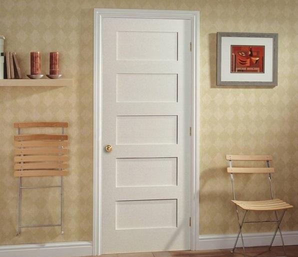 Flat Panel Door Design For Interior Doors Home Doors Design