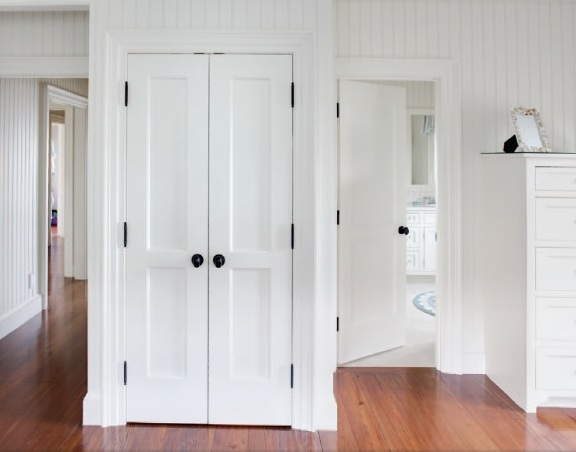 Flat Panel Interior Doors For Double Door Design