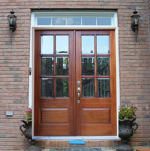 Double Front Door Ideas