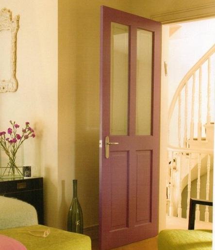 Half glazed interior doors for bedroom