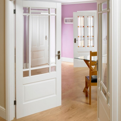 Half Glazed Interior Doors Styles And Materials Home