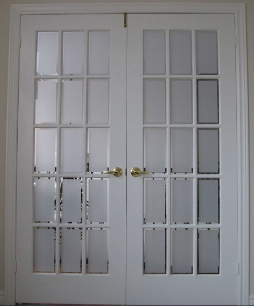 Interior French Doors With Frosted Glass Design Ideas Home Doors Design Inspiration