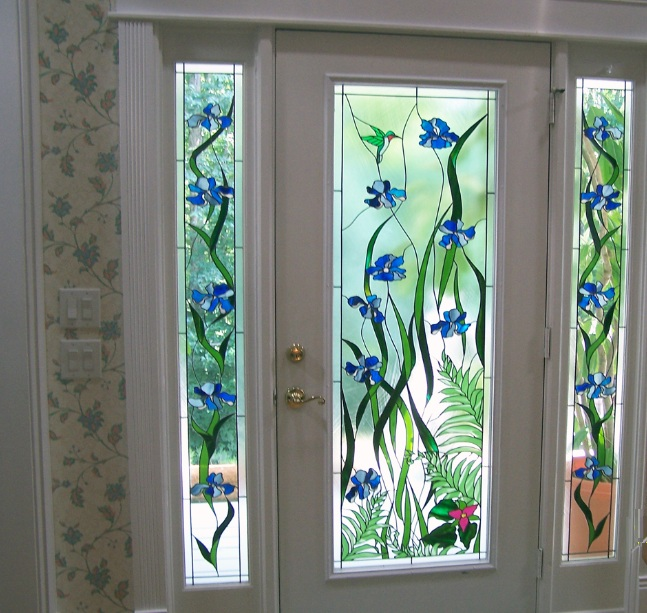 Decorative Leaded Glass Door Inserts Choosing Tips Home