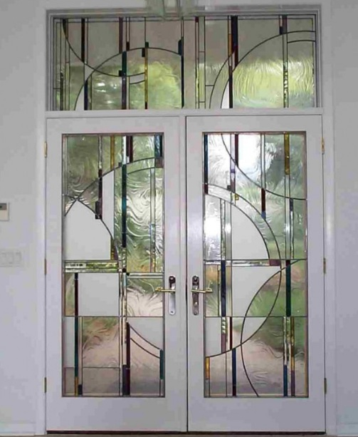 Decorative Leaded Glass Door Inserts Choosing Tips Home Doors Design Inspir