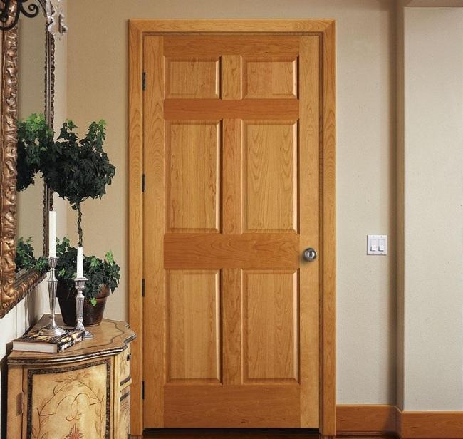 Panel door design for master bedroom