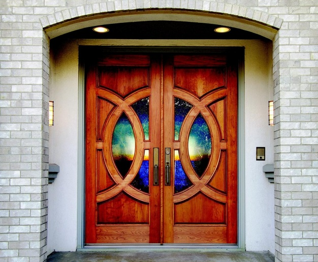 Decorative Leaded Glass Door Inserts Choosing Tips Home