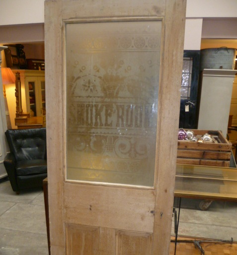 Retro etched glass door panels ideas for interior