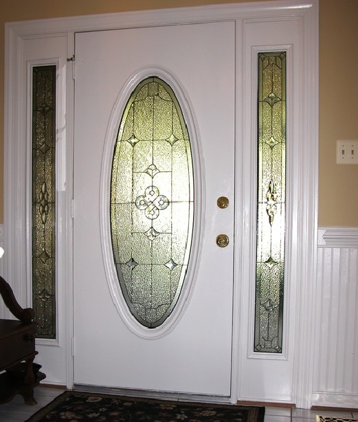 Leaded glass doors leaded glass door leaded glass dr for Single front doors with glass