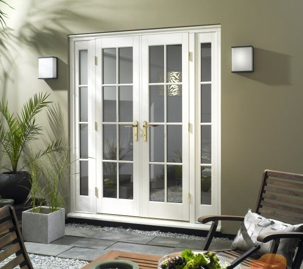 Internal french doors with side panels design some for Side doors for houses