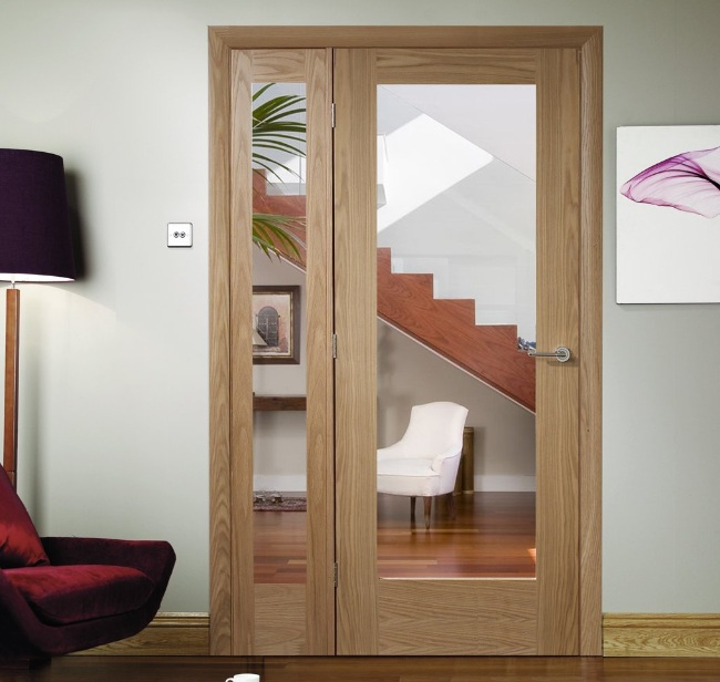 Internal French Doors With Side Panels For Living Room