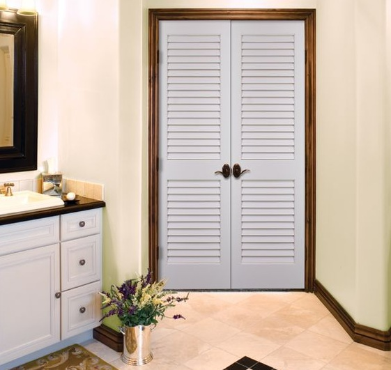 Internal Bathroom Doors: Louvered Interior Doors Options To Decorate Your Home