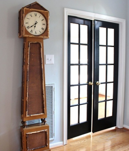 Prehung Interior French Doors With Black Finish Home