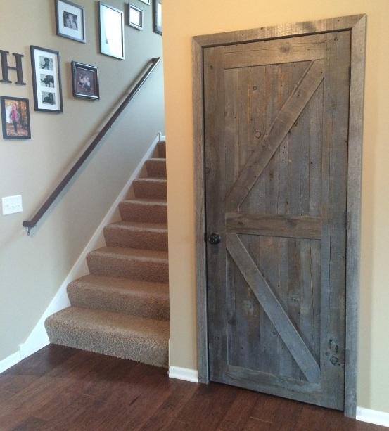 huge discount 0b1af 1f179 Single rustic interior doors with classic door handle | Home ...
